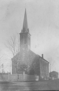 church with steeple 2