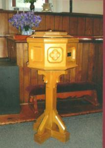 Baptism Font May 1955