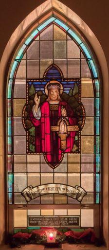 Eldad Stained Glass Window
