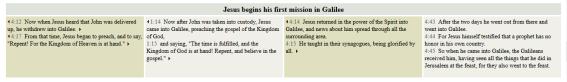 Capture Harmony of the Gospels