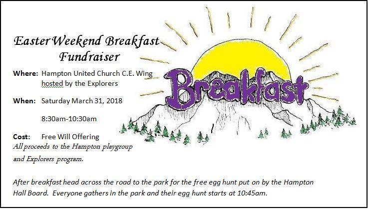 Breakfast Ad Graphic