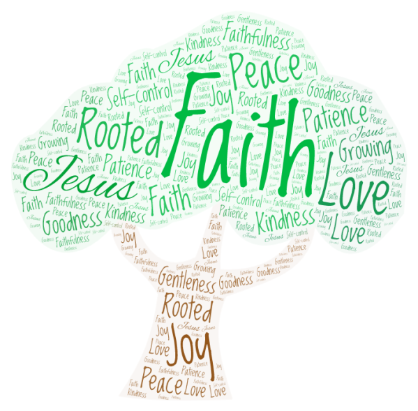 Word Art Rooted in Faith