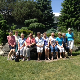Tues Morning Group Outing to Peony Garden 2018