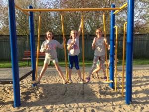 Last meeting May 2017-2018 Playground and Ice Cream