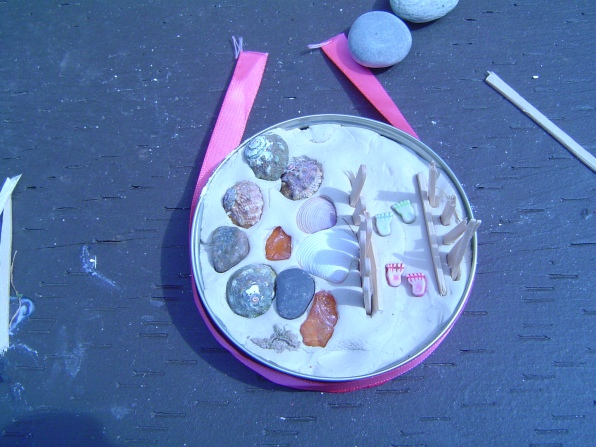 Beach Paperweights (2)