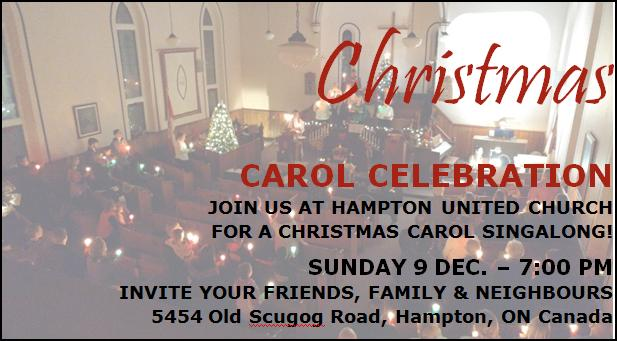Christmas Carol Celebration 12_9_2018