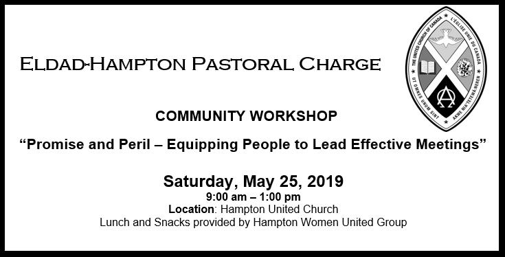 Community Leadership Workshop 2019