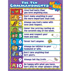 The+10+Commandments+for+Kids+Chart